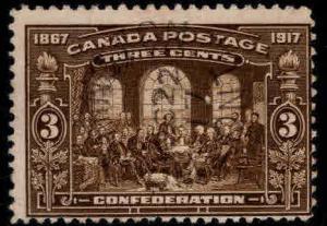 CANADA Scott 135 Used  stamp