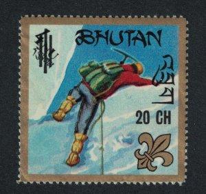 Bhutan Boy Scouts Overprints '20Ch' SG#213 MI#364