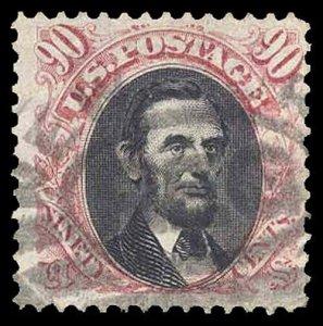 U.S. 1869 ISSUE 132  Used (ID # 89689)