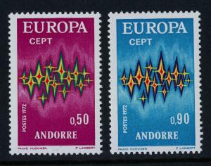 Andorra Fr 210-1 MNH - Europa