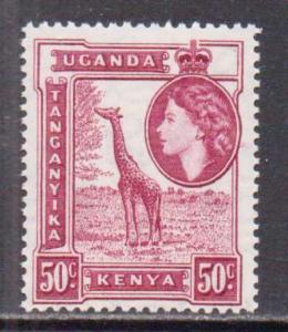 Kenya,Uganda,Tanz.  #110  MNH  (1954)  c.v. $3.50