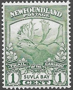 Newfoundland Scott Number 115 VF H