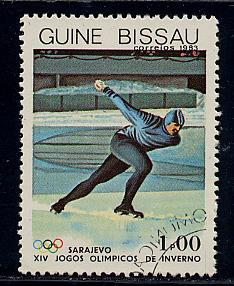 Guinea-Bissau Scott # 505, used