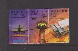 MEXICO STAMPS MINT #1695a,b,c(3) LOT#431
