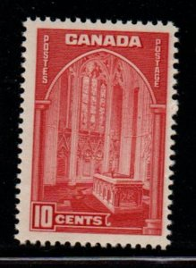 Canada Sc 241 1938 10c Memorial Chamber Parliament stamp mint NH