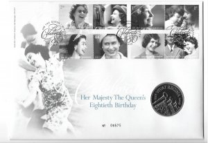 GB 2064-71  2006  Comm. cover w/ 5lb coin