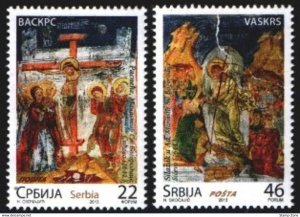 Stamps Serbia, 2013, Easter , Set, MNH, Mi# 493/94