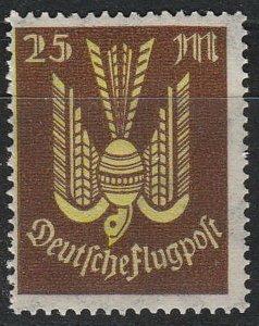 Stamp Germany Reich Mi 236 Sc C13 1923 Airmail Wood Pigeon Luftpost Empire MNH