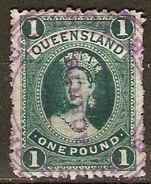 Queensland 78 SG 156 SOTN Cds VF 1883 SCV $220.00