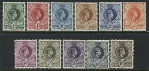 Swaziland  KGVI 1938 complete set mint o.g.