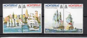 Montserrat 359-362 MNH