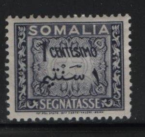 SOMALIA, J55, HINGED, 1950, SOMALIA, POSTAGE DUE STAMPS