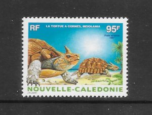 HORNED TURTLE - NEW CALEDONIA #C282  MNH