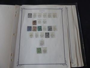 Tunisia 1888-1957 Stamp Collection on Scott Specialty Album Pages