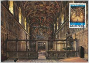 59092 - NICARAGUA - POSTAL HISTORY: MAXIMUM CARD - ART Michelangelo ARCHITECTURE