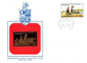 Norfolk Islands, Worldwide First Day Cover