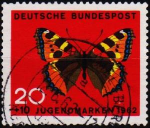 Germany. 1962 20pf+10pf S.G.1292 Fine Used