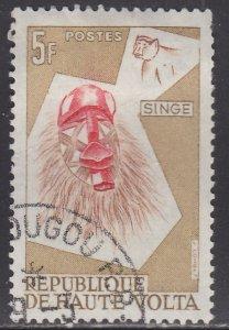 Burkina Faso 77 Monkey Mask 1960