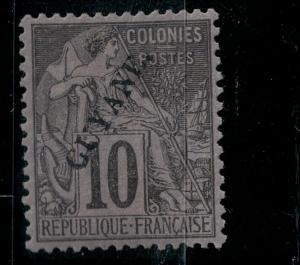 French Guiana 1892 SC 22 Mint SCV $68.00