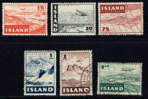 Iceland # C21 - C26 MH/U