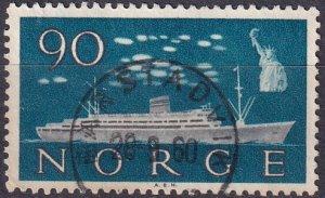 Norway #386  F-VF Used   (SU8295)