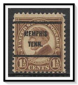 US Precancel #633-61 Memphis TN Used