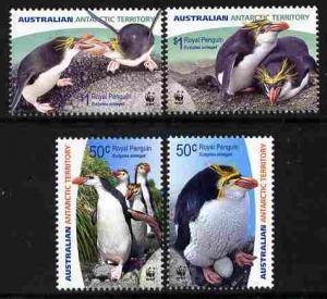 Australian Antarctic Territory 2007 WWF - Royal Penguin p...