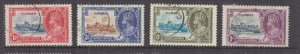 GAMBIA, 1935 Silver Jubilee set of 4, used.