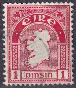 Ireland #107  F-VF Used (V4736)