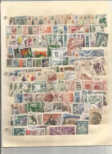 FRENCH COLONY COLLECTION ON STOCK SHEETS, MINT/USED