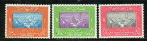 SAUDI ARABIA SCOTT# 650-652 MINT NEVER HINGED AS SHOWN