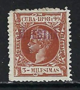 CUBA 158 MNG THIN SPECIMEN 336
