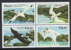 Palau C4a Birds MNH VF