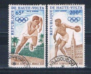 Burkina Faso C102-03 Used set Olympics 1972 (HV0243)