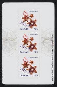 Canada 2584a Right Booklet pane MNH Star Christmas Cookie