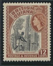British Guiana SG 338a Mint Light Hinge (Sc# 260 see details)