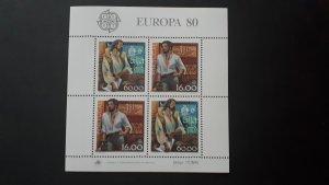 Europa CEPT - Portugal 1980. - Vasco da Gama ** MNH Block
