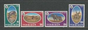 Malawi  Scott catalogue # 319-322 Mint NH See Desc