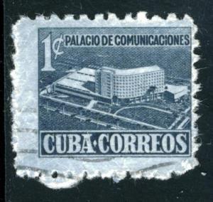 CUBA #RA16, USED - 1952 - CUBA007