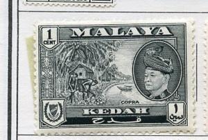 Malaya Kedah MLH Scott Cat. # 83