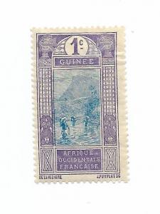 French Guinea 1913 - Scott #63