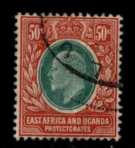 East Africa and Uganda protectorates  Scott 38 KEVII nice color and centering