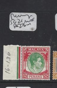 MALAYA  PENANG  (PP2303B) KGVI $2.00  SG 21  MNH