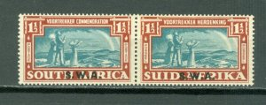 SOUTH WEST AFRICA #134 WOORTREKKER PAIR...MINT...$21.00