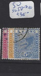 MALAYA  SUNGEI UJONG  (P0507B)  TIGER 2C-5C  SG 50-2   VFU