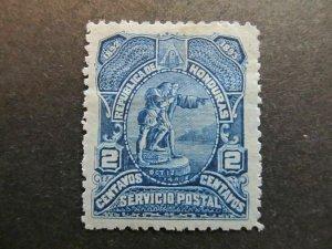 A4P11F6 Honduras 1892 2c mh*