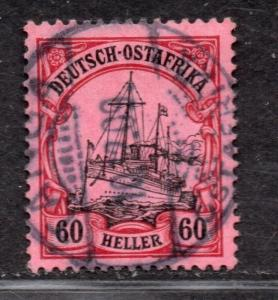 **German East Africa, SC# 38, MI # 37 Used VF/XF Single Stamp, CV $190.00