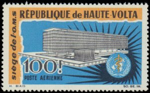 Burkina Faso #C30, Complete Set, 1966, United Nations Related, Never Hinged