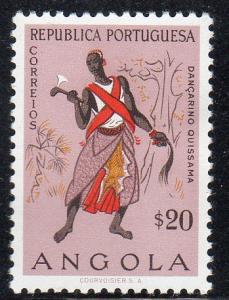 Angola 398 - Mint-H - Angolan Costume / Clothing