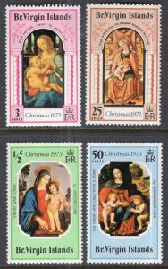 British Virgin Islands 262-265 MNH VF